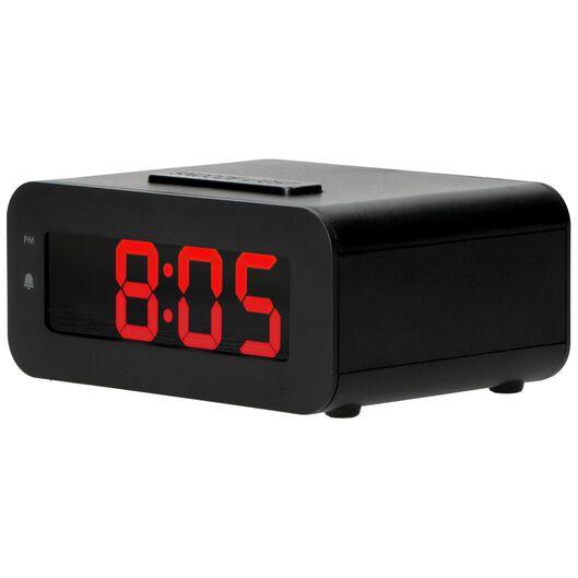 wekker digitaal LED met snoer - 13780022 - HEMA