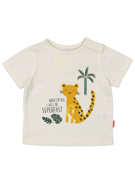 HEMA Newborn T-shirt Gebroken Wit (gebroken wit)