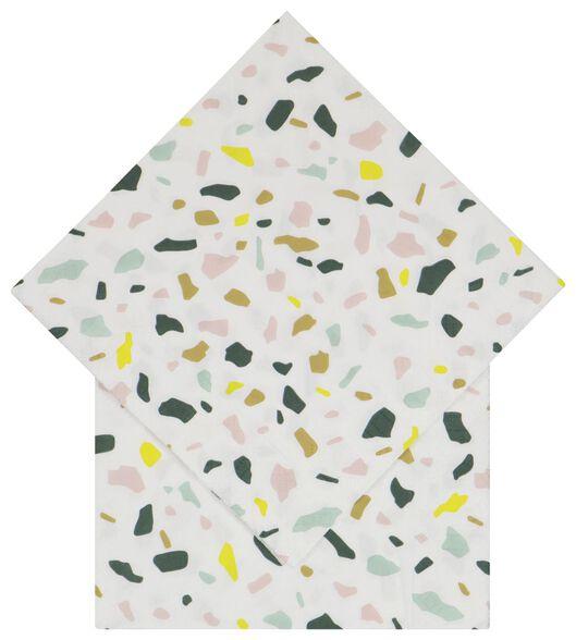 servetten 33x33 papier terrazzo - 20 stuks - 14200460 - HEMA