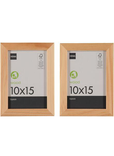 2-pak fotolijst 10 x 15 cm - 13650016 - HEMA