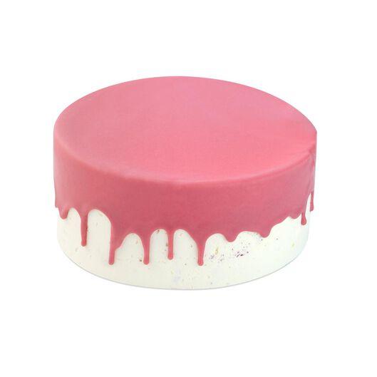 Dripcake roze red velvet 16 p.