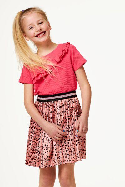 kinderrok plissé roze 110/116 - 30816734 - HEMA
