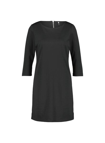 damesjurk zwart M - 36318121 - HEMA