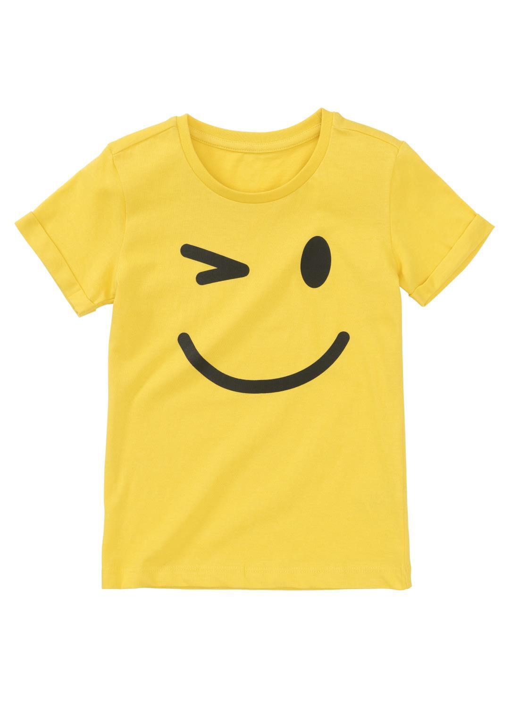 HEMA Kinder T-shirt Geel (jaune)