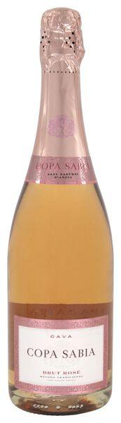 Copa Sabia cava brut rosé 0.75L - 17390712 - HEMA