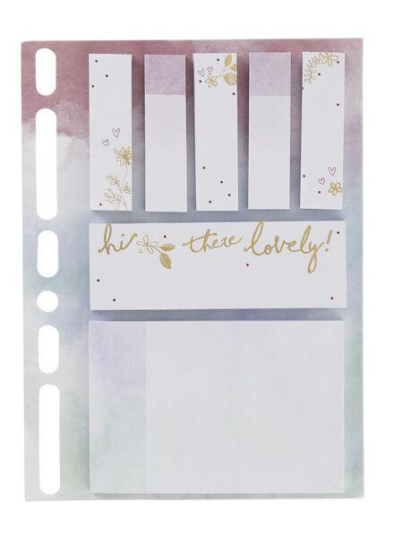 7-pak sticky notes - 14101318 - HEMA