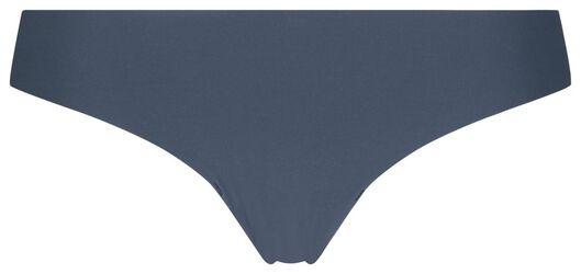 damesstring kant middenblauw XS - 19616081 - HEMA