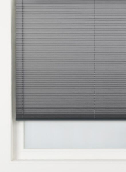 plisségordijn uni transparant 20 mm - 7430076 - HEMA