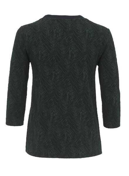 dames t-shirt donkergroen donkergroen - 1000009758 - HEMA