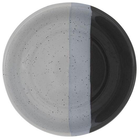 schaal - 12 cm - Cordoba - antraciet - 9602131 - HEMA