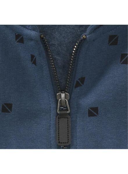 kinder sweatvest donkerblauw donkerblauw - 1000008573 - HEMA