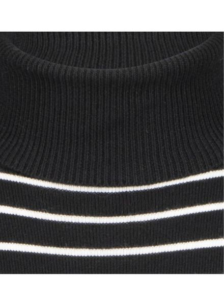 dames coltrui zwart/wit zwart/wit - 1000015663 - HEMA