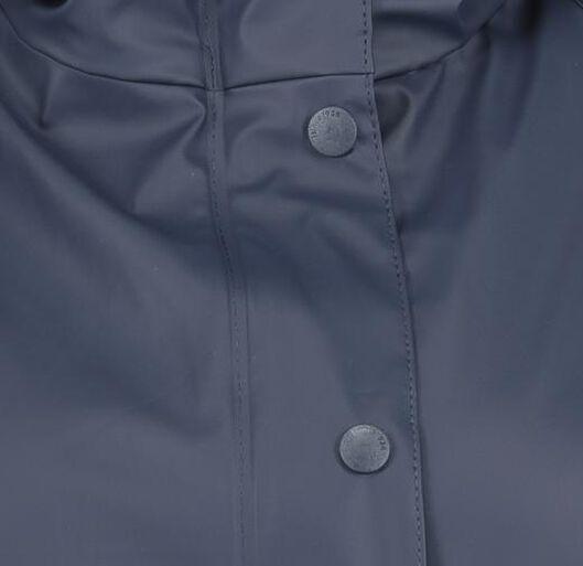dames regenjas - waterproof blauw M - 36291072 - HEMA