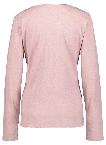 dames nacht t-shirt roze roze - 1000016835 - HEMA