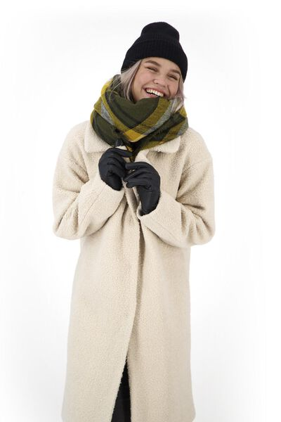 dameshandschoenen zwart XL - 16460144 - HEMA