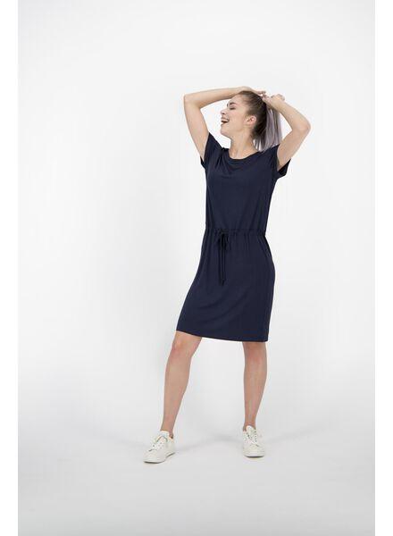 damesjurk donkerblauw donkerblauw - 1000013841 - HEMA