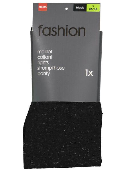 fashion maillot met glitter zwart zwart - 1000016540 - HEMA