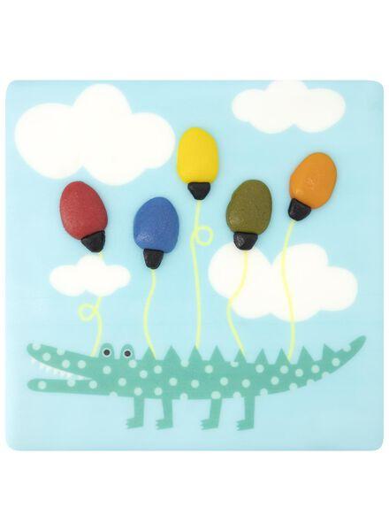 verjaardagstaart ballonnen 9 p. - 6333749 - HEMA