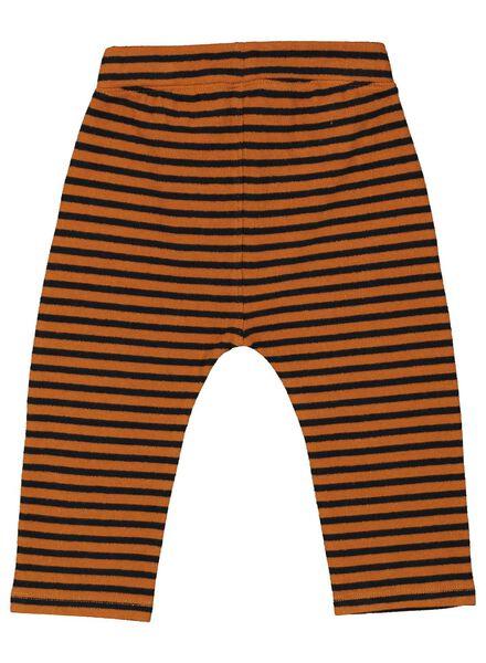 2-pak baby sweatbroek zwart/wit zwart/wit - 1000016902 - HEMA