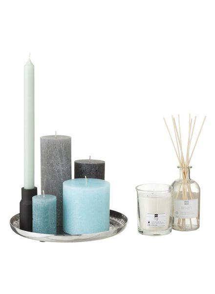rustieke kaarsen antraciet antraciet - 1000015390 - HEMA