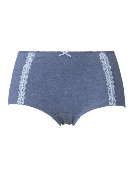 damesboxer blauw blauw - 1000006540 - HEMA