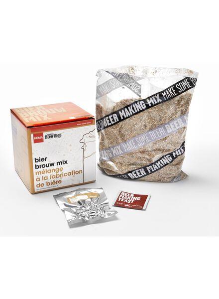 bier brouw mix Belgisch bruin bier navulpakket - 17400046 - HEMA