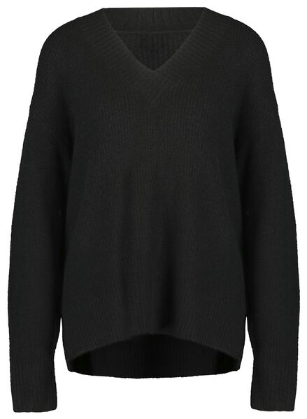 damestrui zwart XL - 36344794 - HEMA