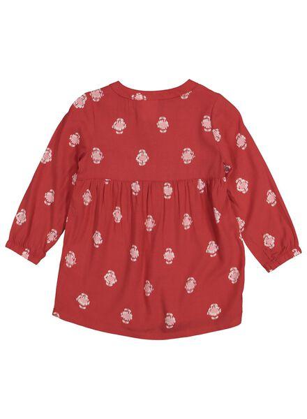 babyjurk rood rood - 1000014310 - HEMA