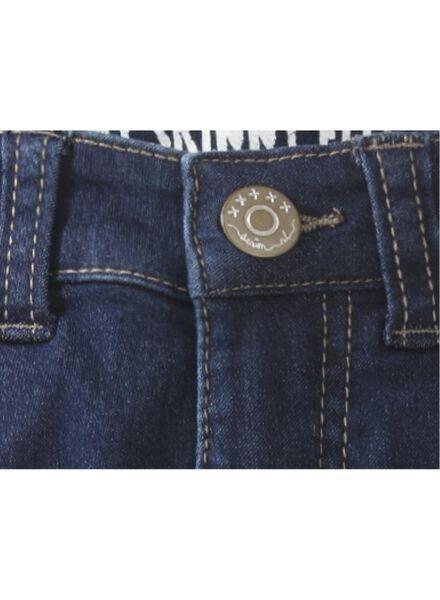 meisjes jeans donkerblauw donkerblauw - 1000005968 - HEMA