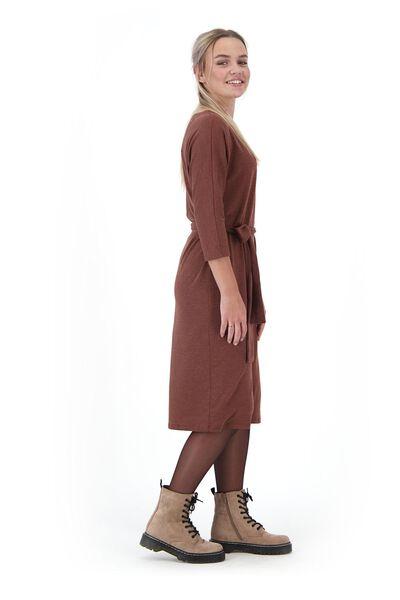 damesjurk bruin bruin - 1000020966 - HEMA