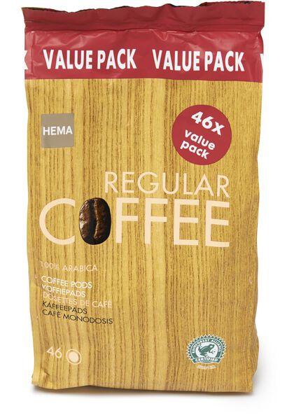 koffiepads regular - 46 stuks - 17100021 - HEMA