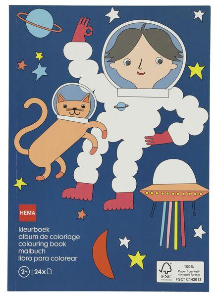 kleurboek ruimte - 15920019 - HEMA