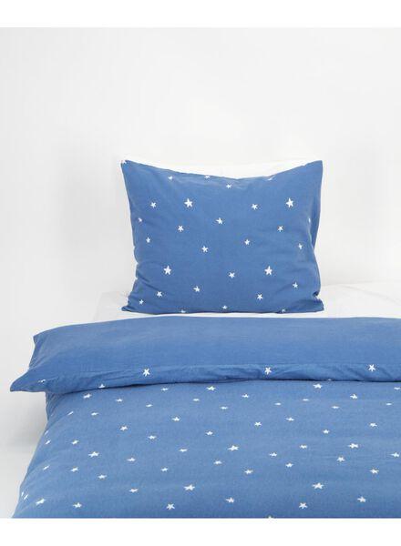kinderdekbedovertrek - 140 x 200 - flanel - sterren - 5710145 - HEMA