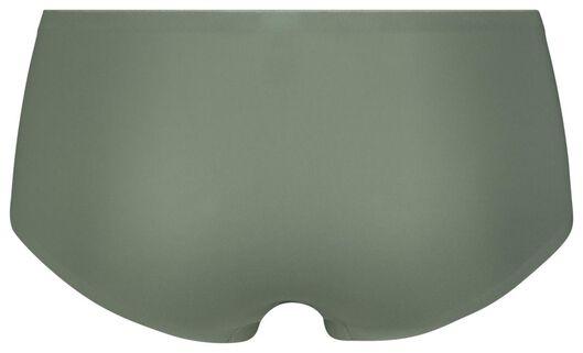damesboxer second skin micro groen groen - 1000022956 - HEMA