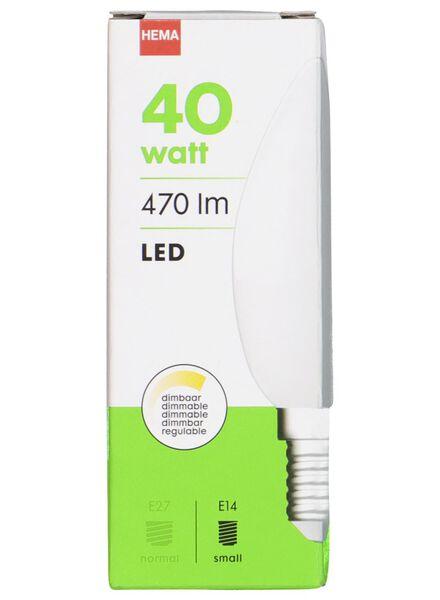 LED lamp 40W - 470 lm - kaars - mat - 20020021 - HEMA