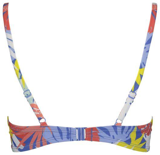 dames padded bikinitop blauw blauw - 1000017948 - HEMA
