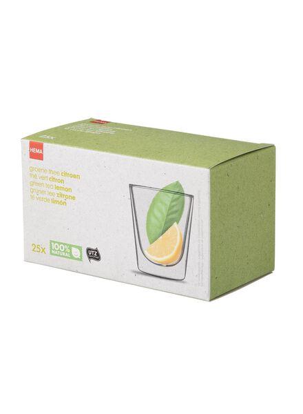 groene thee met citroen - 17100060 - HEMA