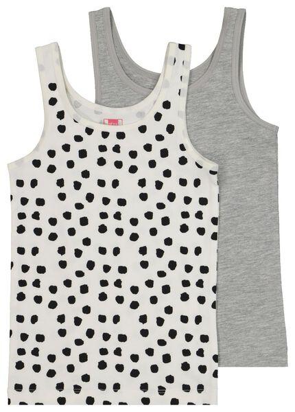 2-pak kinderhemden zwart - 1000020477 - HEMA