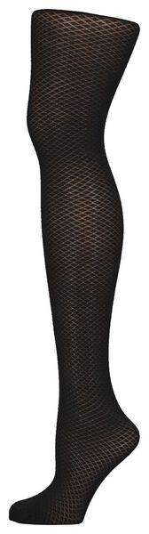 fashionpanty diamant zwart 40/42 - 4042457 - HEMA