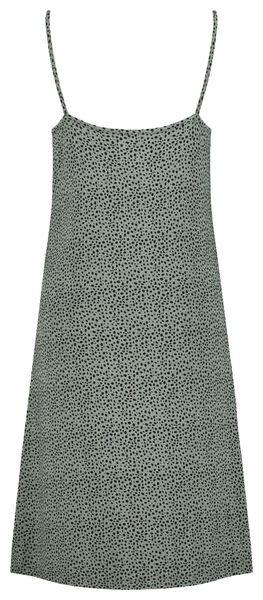 damesnachthemd kant groen XL - 23400934 - HEMA