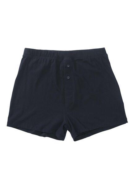 2-pak herenboxers donkerblauw donkerblauw - 1000009661 - HEMA