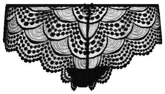 B.A.E. damesbrazilian kant zwart zwart - 1000018674 - HEMA