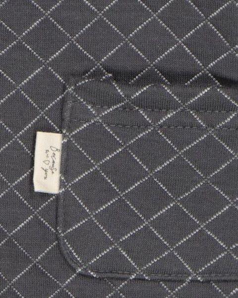 newborn jumpsuit grijs 50 - 33438331 - HEMA