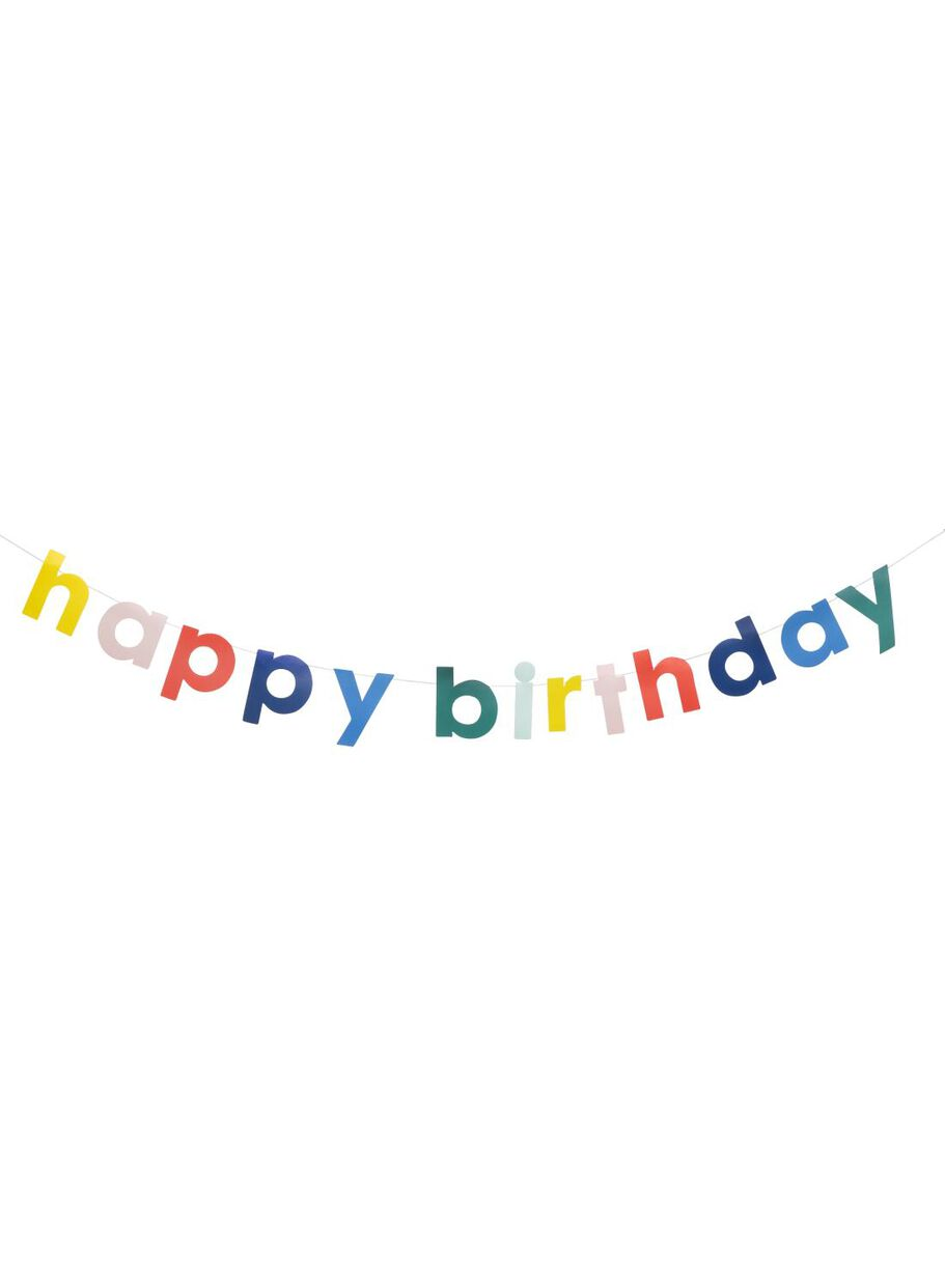 happy birthday slinger 1.5 meter - HEMA
