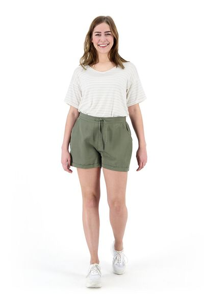 dames t-shirt gebroken wit - 1000019574 - HEMA