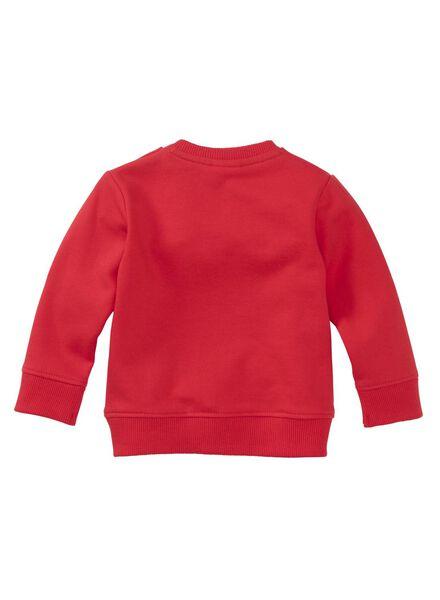 babysweater rood rood - 1000011239 - HEMA
