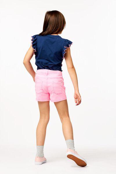 kindershort roze 158/164 - 30841069 - HEMA