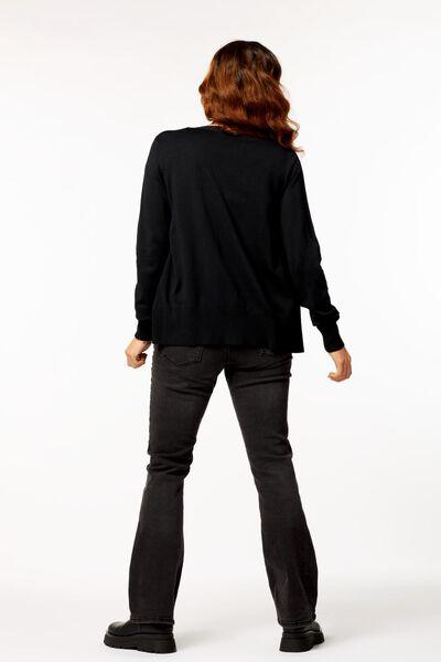 damesvest zwart M - 36344787 - HEMA