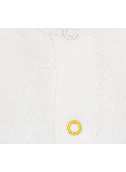 2-pak newborn jumpsuits lichtblauw lichtblauw - 1000010027 - HEMA
