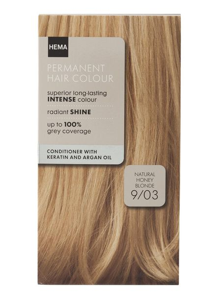 haarkleuring honey blond 9/03 - 11050013 - HEMA
